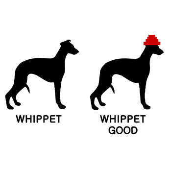 WHIPPET-whip-it-GOOD-devo-FUNNY-throwback-cool-fast-racing-dog-owner-TSHIRT